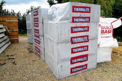 Thermalite aerated concrete blocks