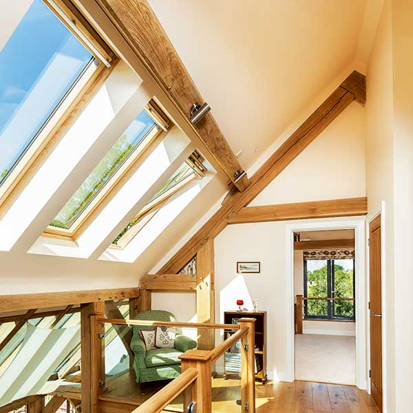 Homebuilding Renovating: Cathedral Ceiling Loft Conversion