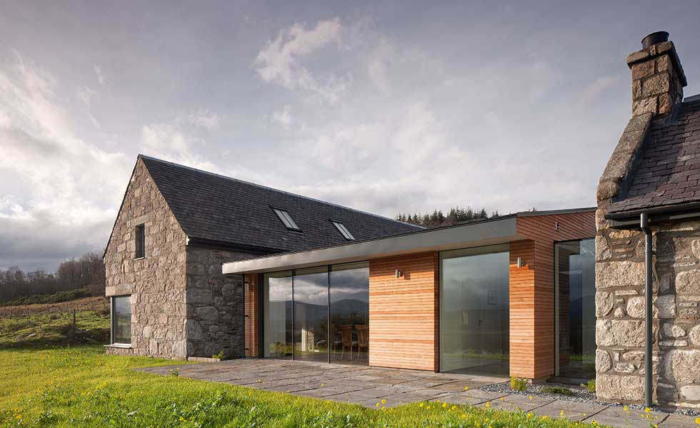 stone croft self build with clad link