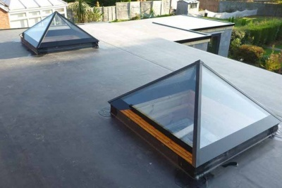 pyramid two rooflights