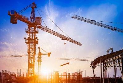 build-zone sunrise cranes