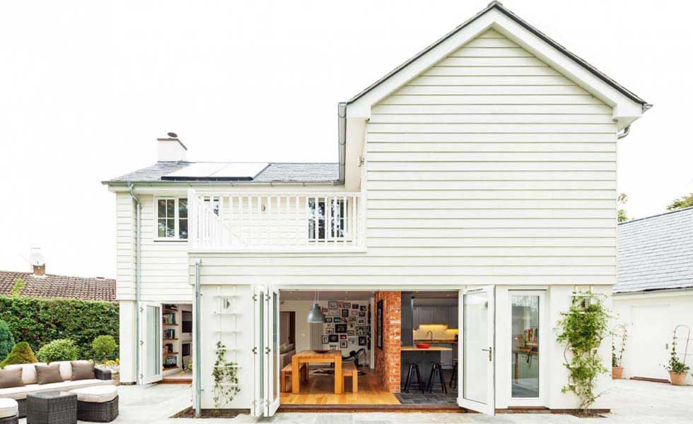 American-style remodel of an 1950s home
