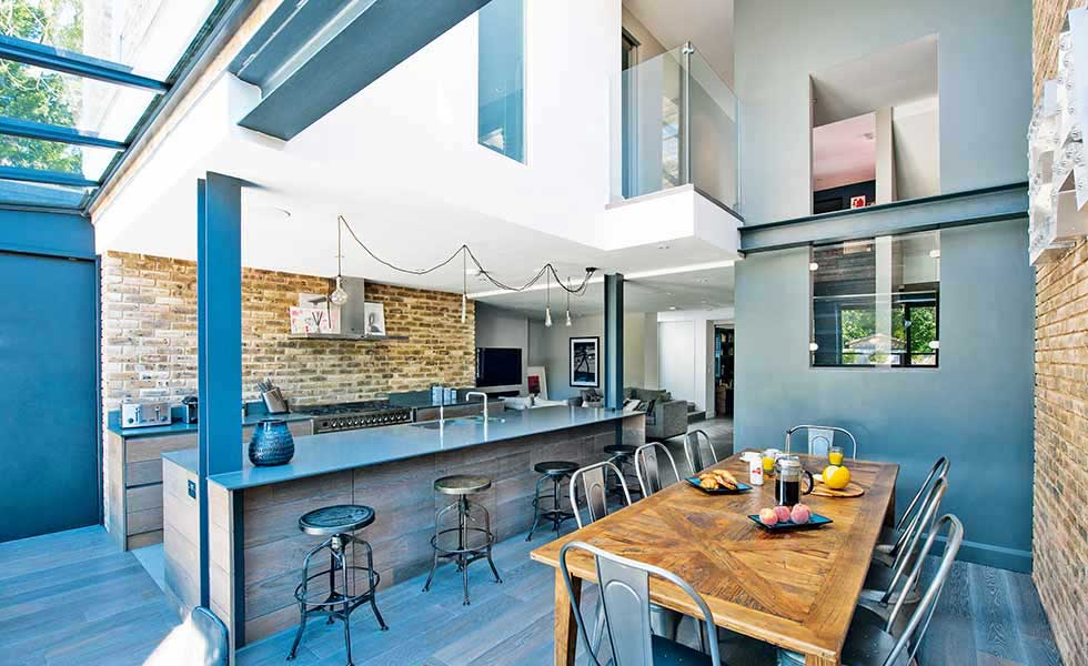 12 american style homes homebuilding renovating for New york style kitchen design