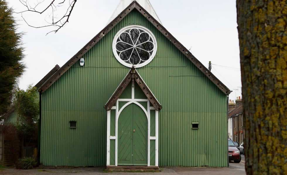 green tin chapel