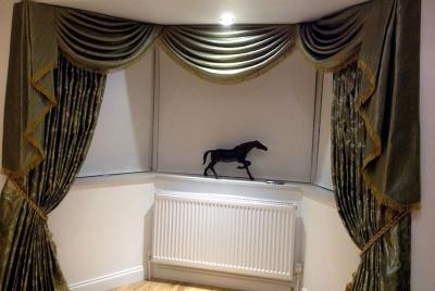 Sash Window Curtain