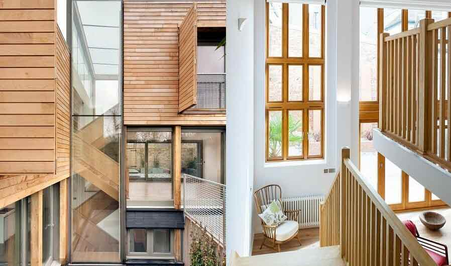 george barnsdale wood modern windows