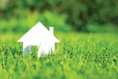 planning obligations visual of a house on grass