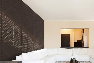 thre3deco brown wall