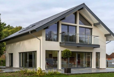 british gypsum scandi house glass solar panels