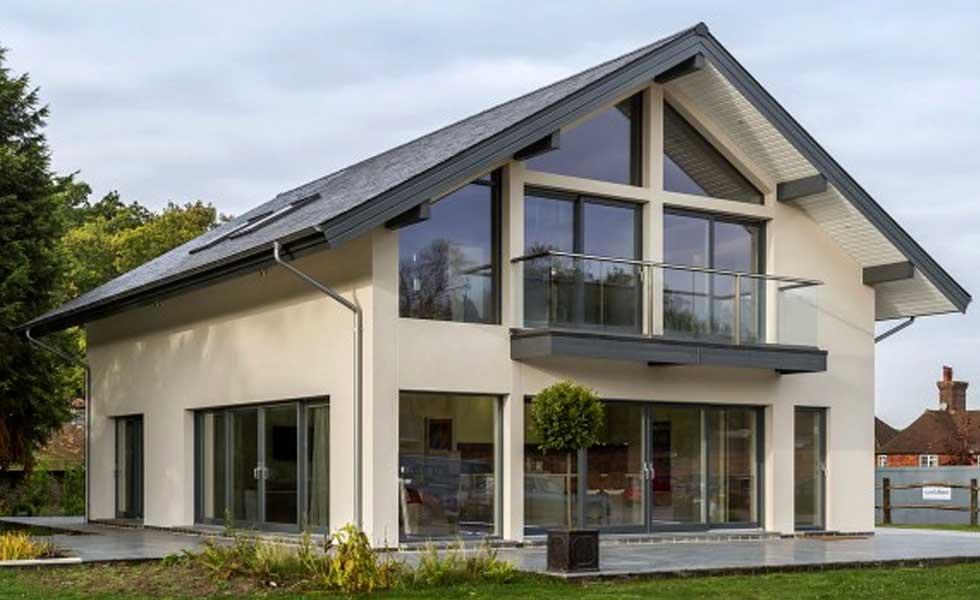 british gypsum scandi house glass solar panels