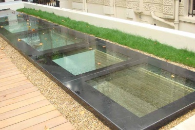 roofglaze rooflight fixed flatglass walk on