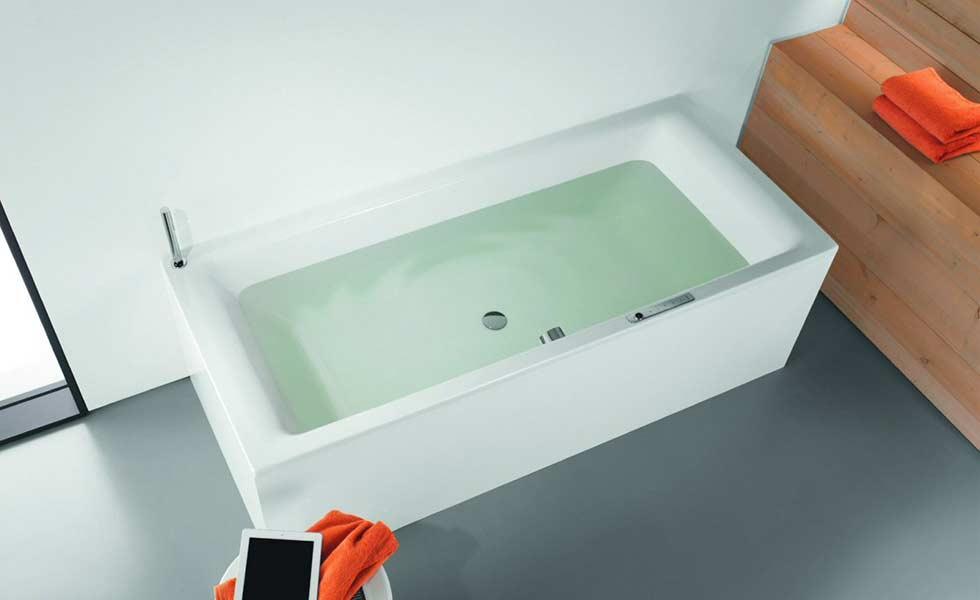Kaldewei Sound Wave in Puro Duo Bath'