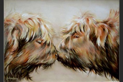 """Se Fond Kiss"" Elaine Johnston"