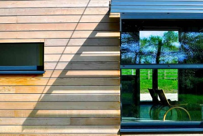 spectrum glazing timber cladding