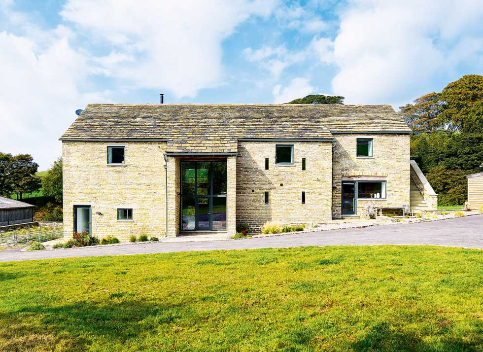stone barn conversion in Cheshire