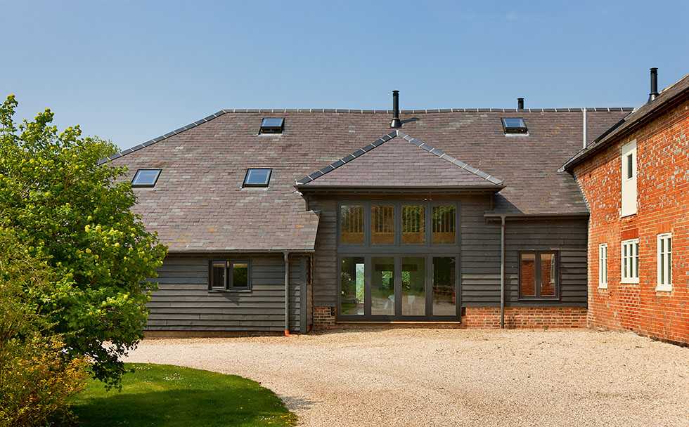 oak frame barn conversion