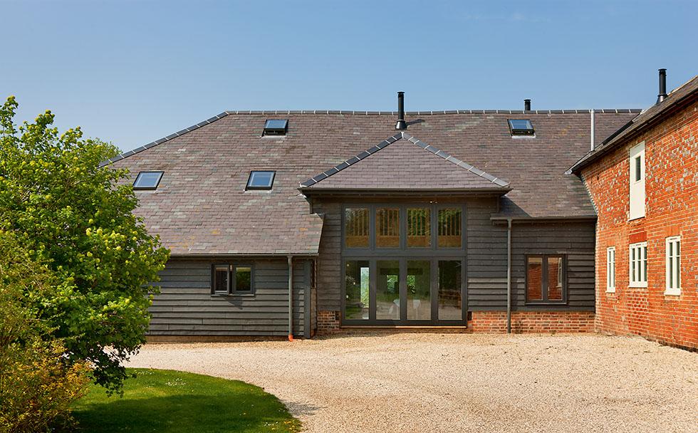 oak frame barn conversion