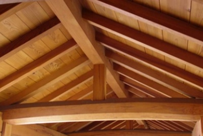 duffield timber roof interior