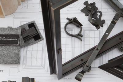 architectural bronze casements ironmongery