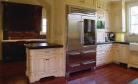 osborne unfinished cabinetry kitchen american fridge interior