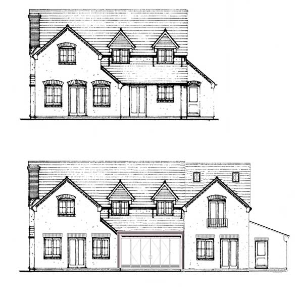 Front Elevation Plan Meaning : Applying for planning permission an extension
