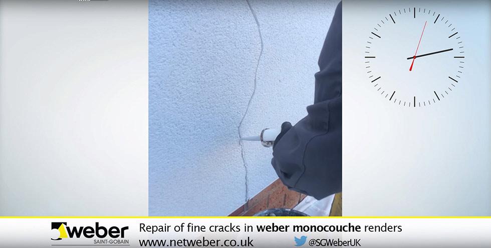 weber crack repair