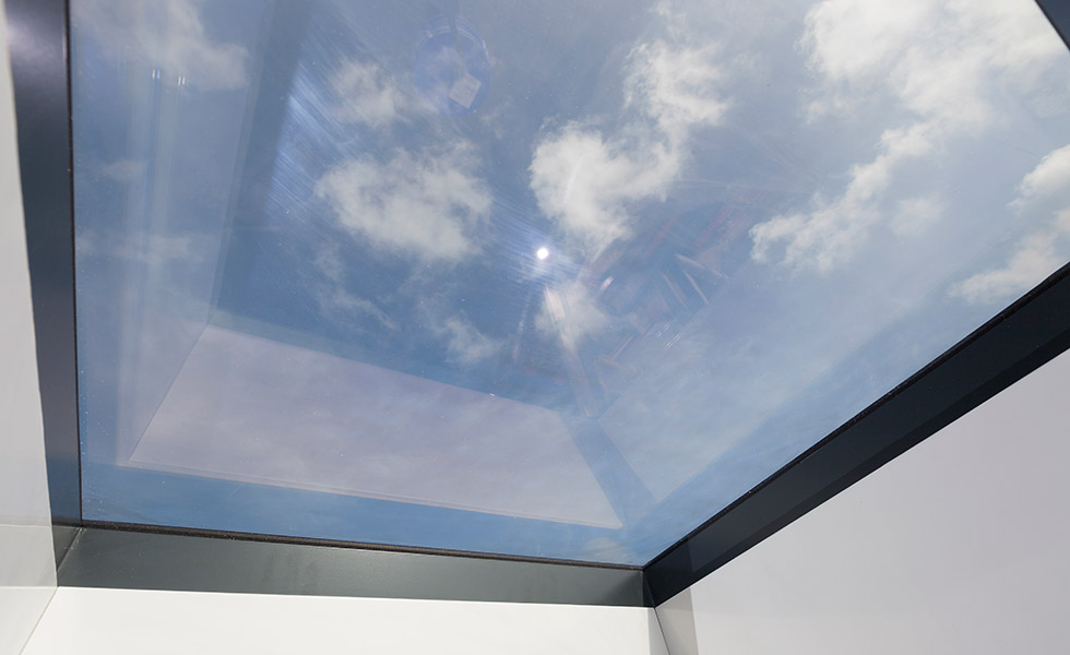 alumen crystal clear rooflight