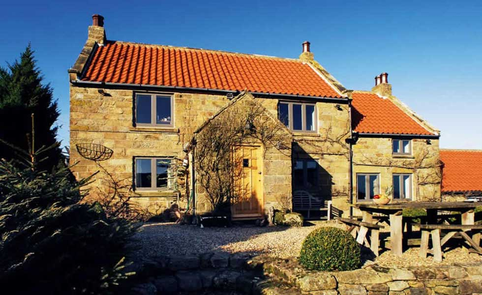 stone cottage extension
