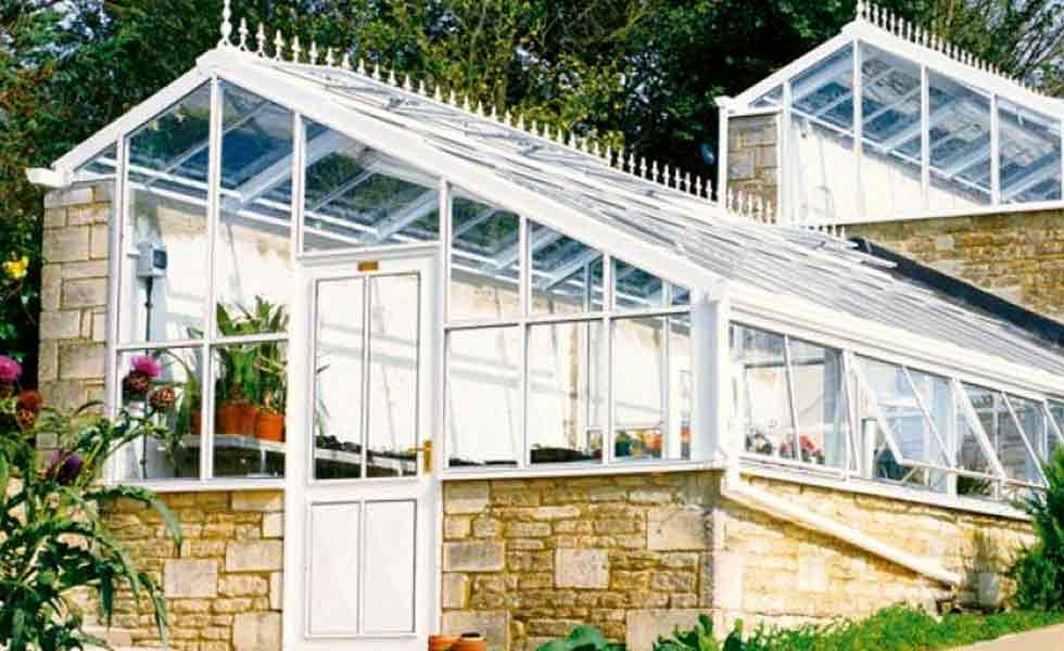 hartley botanic bespoke greenhouse windows tiered