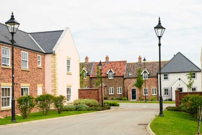 new homes on an estate