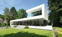Schueco folding sliding doors glazing exterior modern architecture