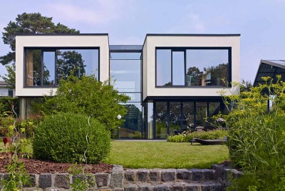 Schueco aluminium windows architectural glazing exterior