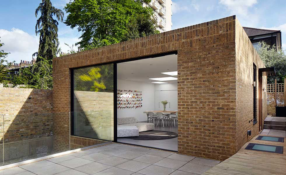 hidden self build in London