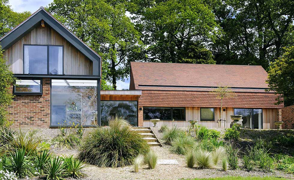 contemporary vernacular home in the New Forest