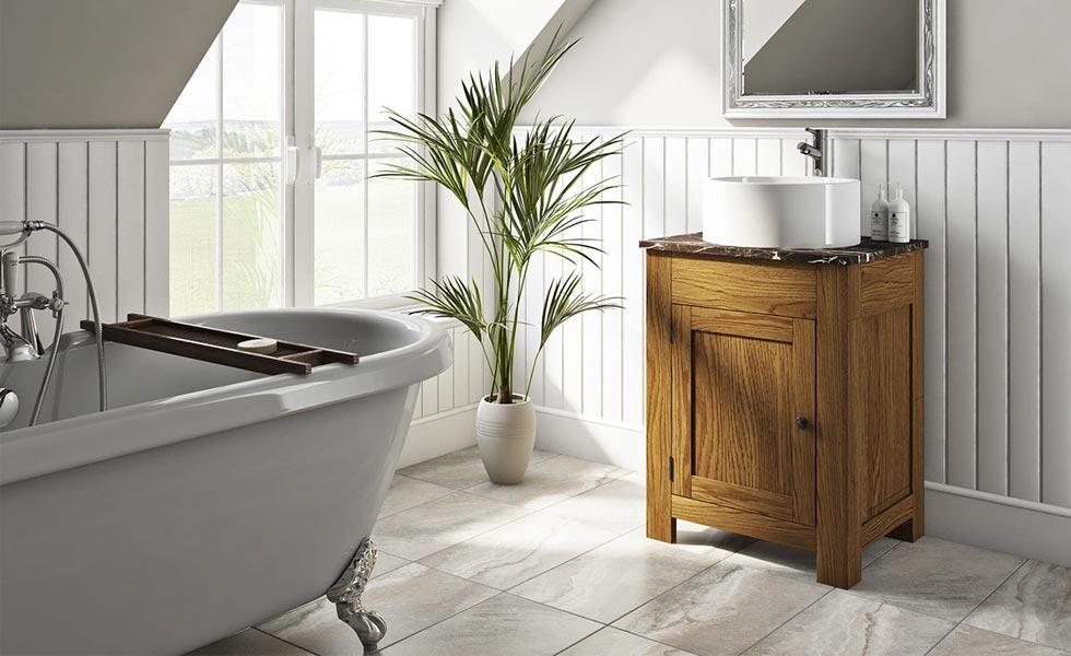 chester oak washstand 2