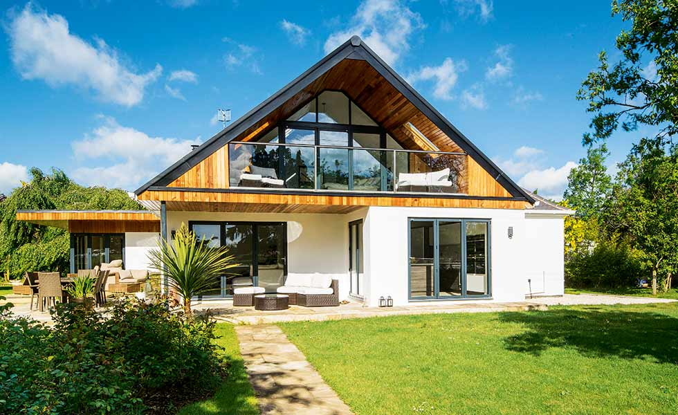 A chalet inspired home in Worcestershire