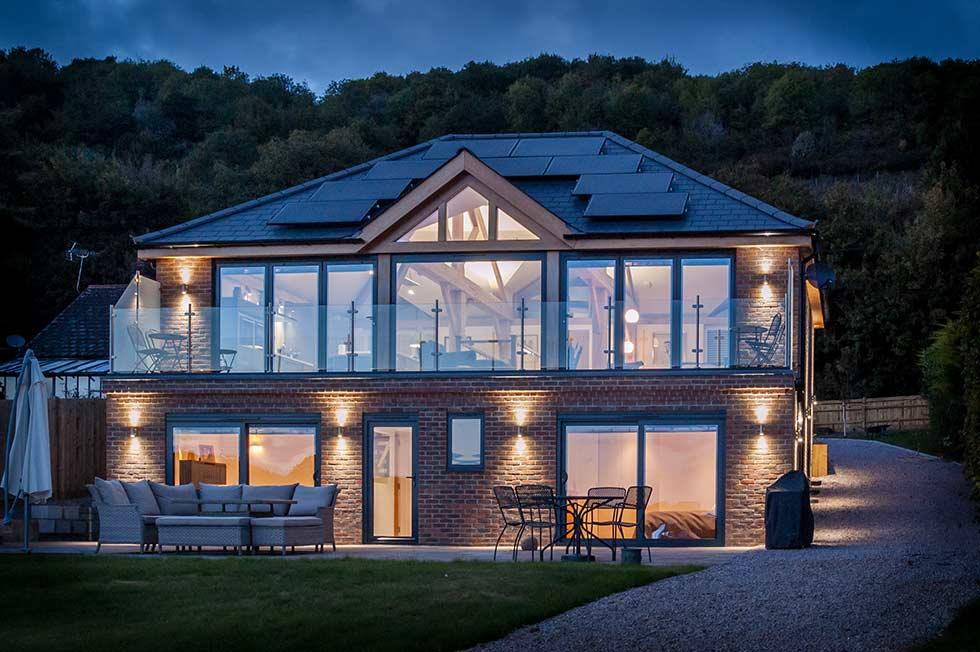 nu-heat underfloor heating glazing home exterior