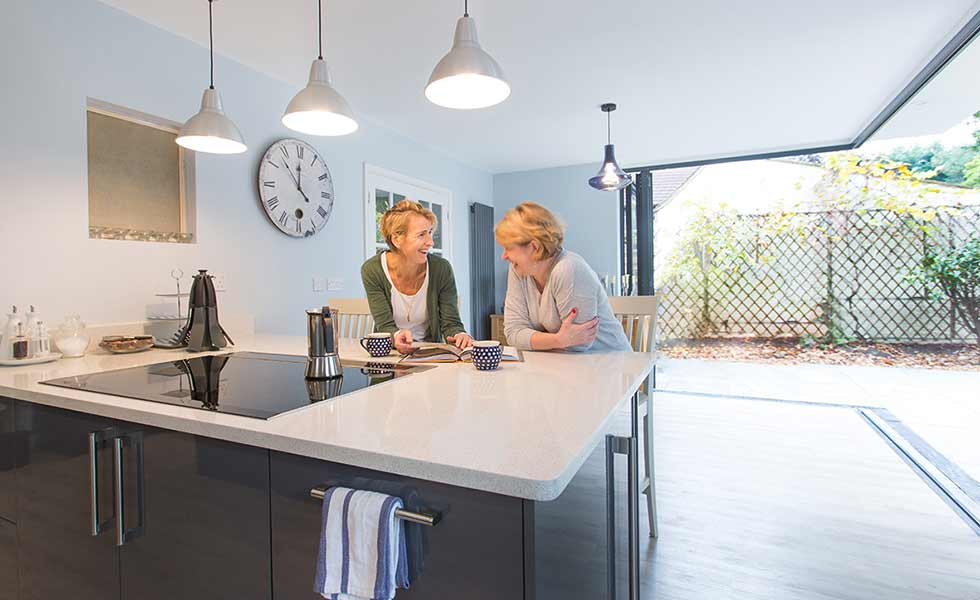 architect your home open plan kitchen