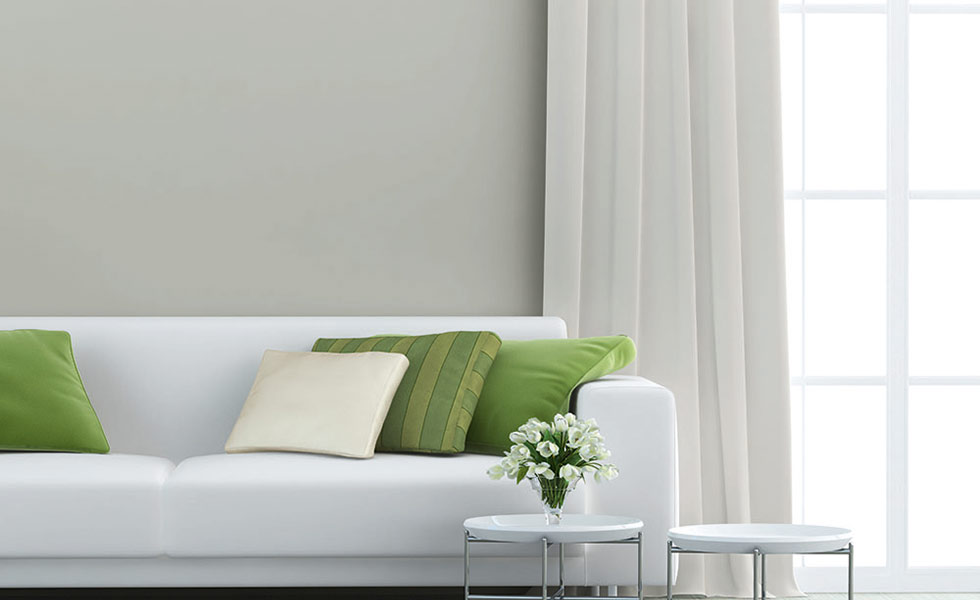 baumit healthy living plaster green cushions