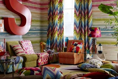 kingdom interiors multi-coloured furnishings