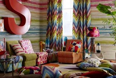 kingdom interiors multi-coloured furnishings
