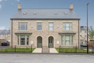 cupa natural slate semi detatched houses