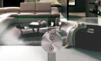aalco glass ballustrade closeup
