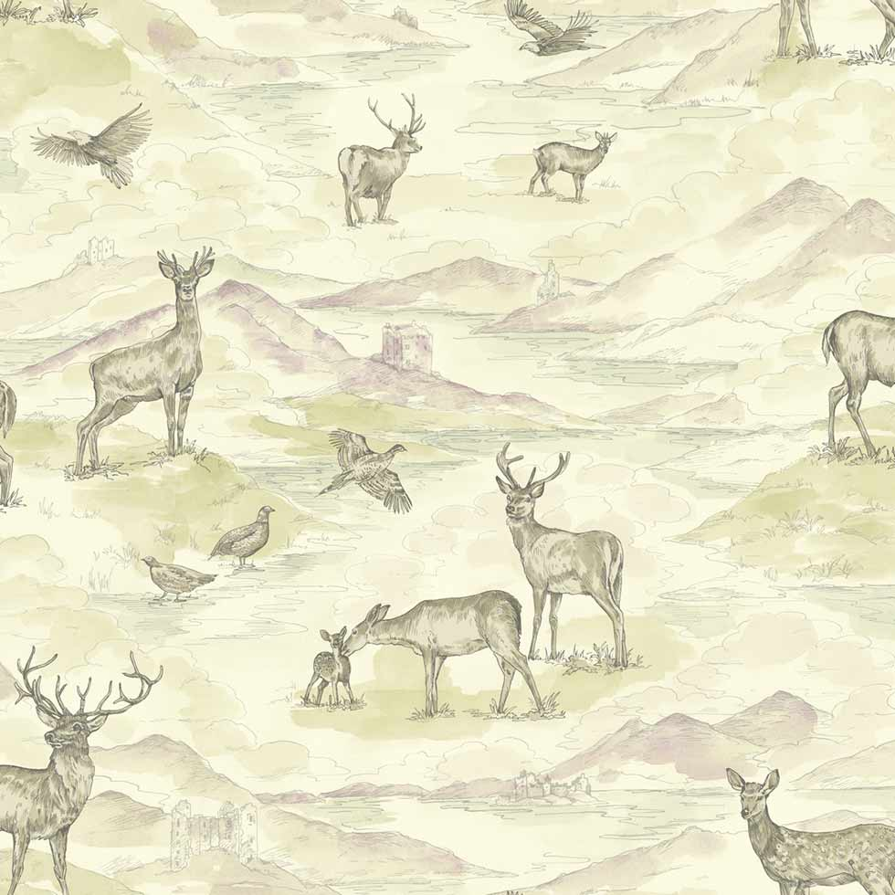wardgroup feauture wall wallpaper stag