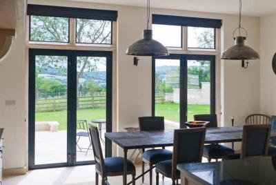 architectural brinze patio doors