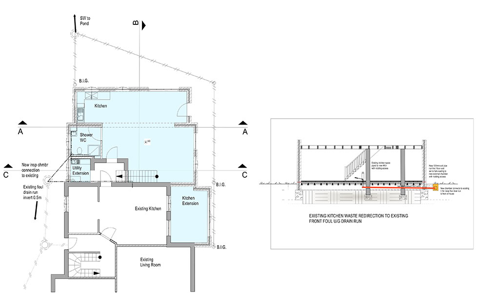 The-proposed-drainage-plans-for-the-ground-floor
