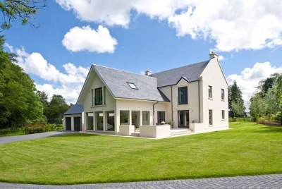 renew green energy Award winning new build using HRV, solar PV and efficient technologies