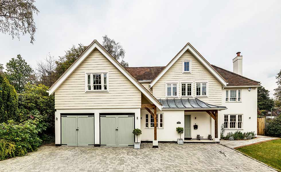 An extension and Marley Eternit cladding system helped in transforming this Hampshire home
