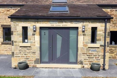 Slate Grey Entrance Door