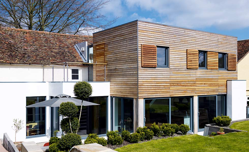 Period renovation with contemporary extension